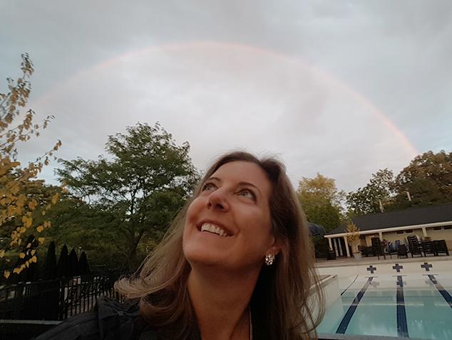 Mair Hill rainbow