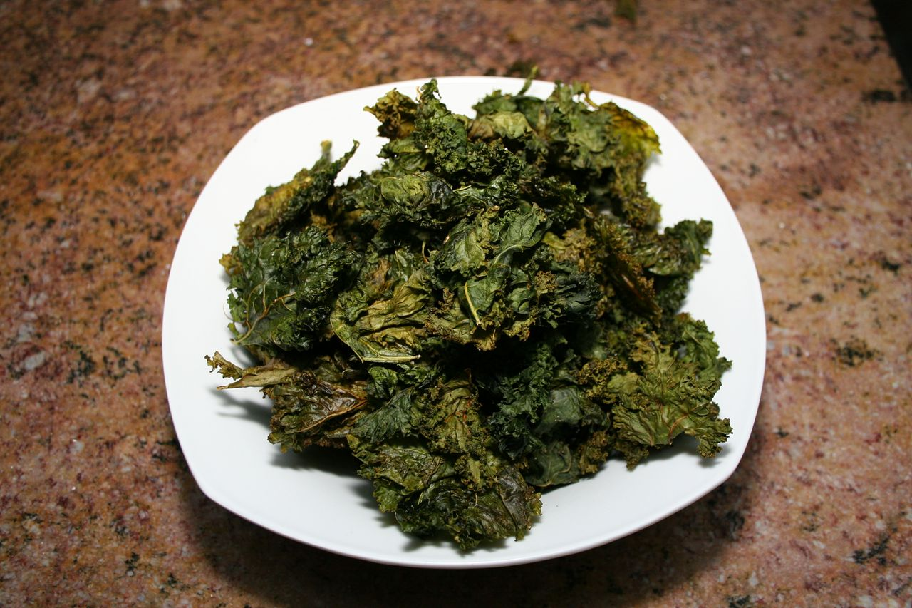 Perfectly Roasted Kale