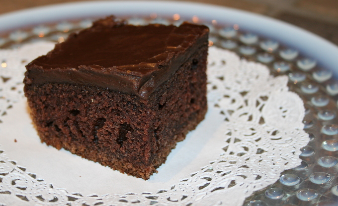 Denver Chocolate Sheet Cake